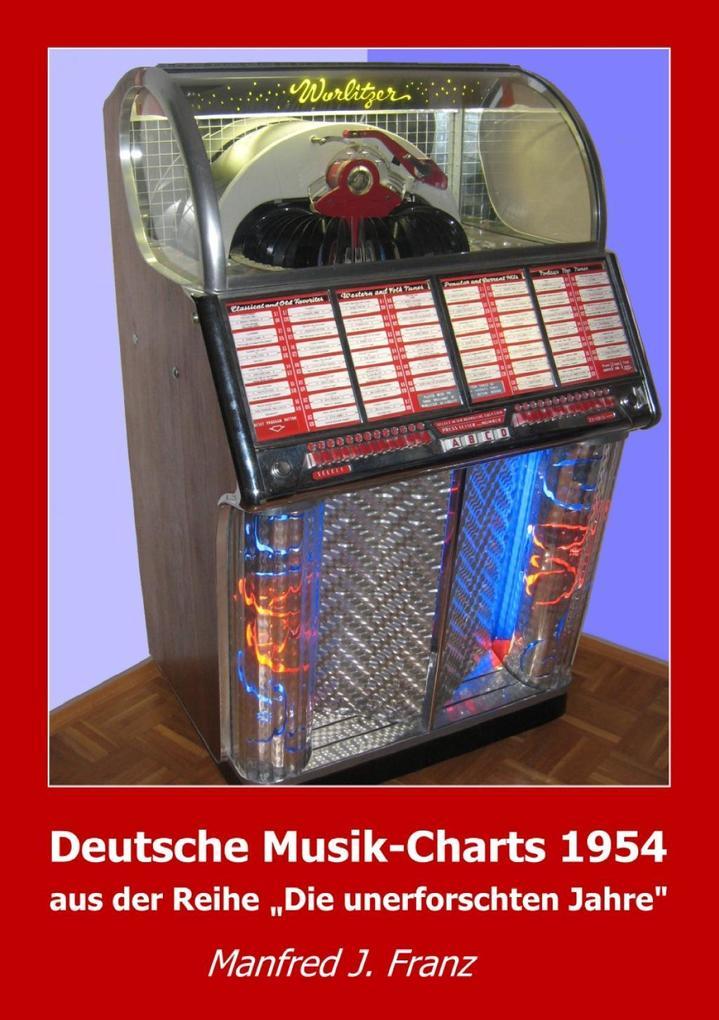 Deutsche Musik-Charts 1954 als eBook Download v...