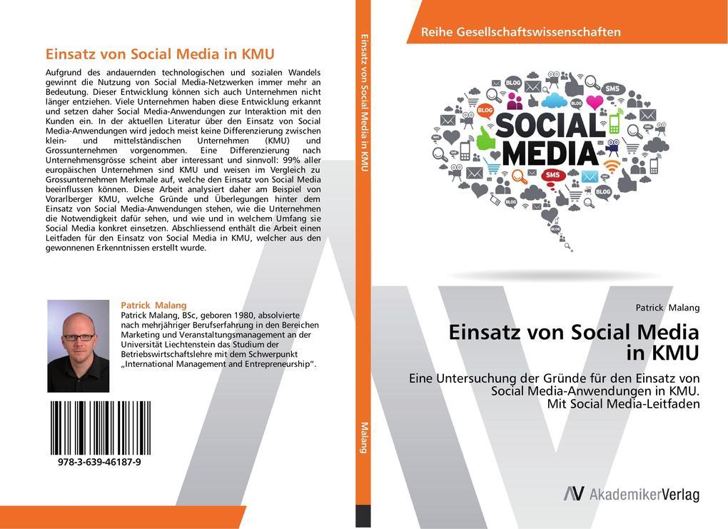 Einsatz von Social Media in KMU als Buch von Pa...