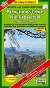 Wander- und Radwanderkarte Schrammsteine, Kirnitzschtal und Umgebung 1 : 20 000