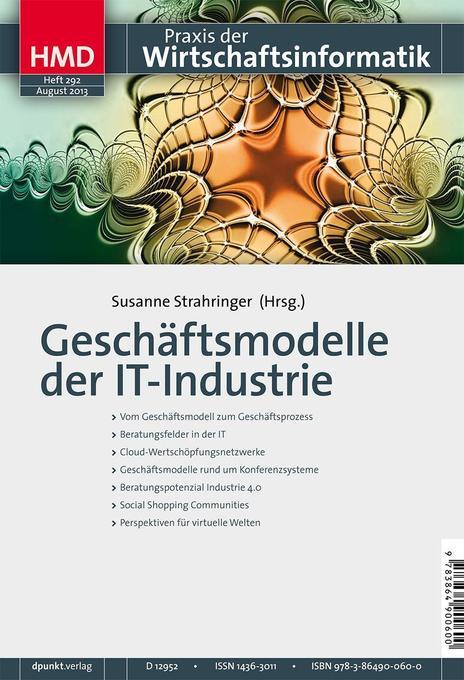 Geschäftsmodelle der IT-Industrie als Buch von