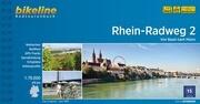 Bikeline Radtourenbuch Rhein-Radweg 02 1 : 75 000