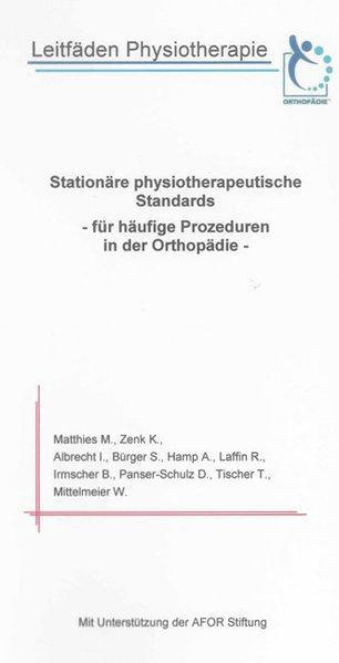 Leitfäden Physiotherapie als Buch von Marion Ma...