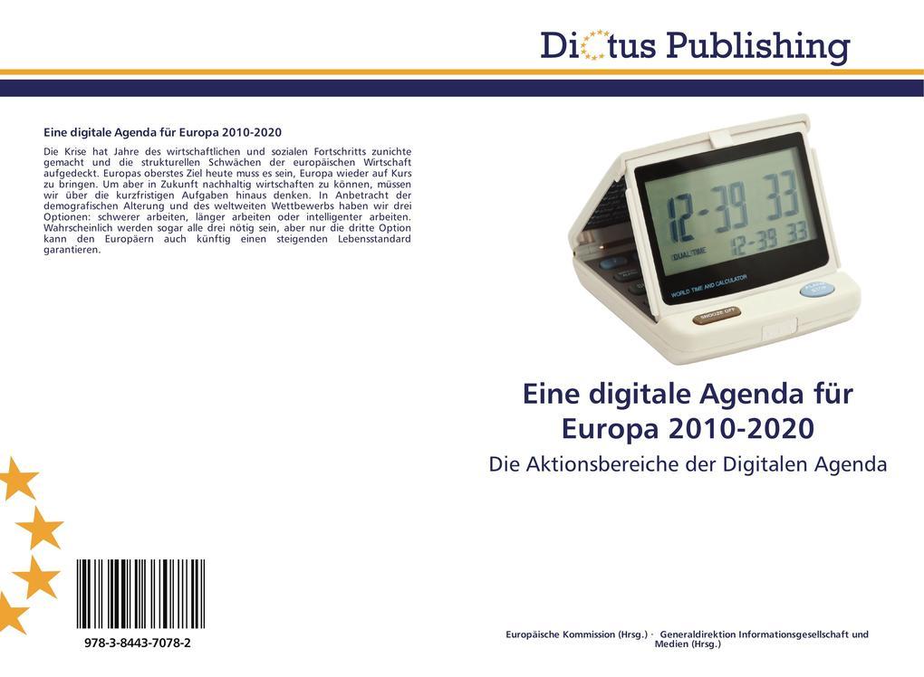 Eine digitale Agenda für Europa 2010-2020 als B...