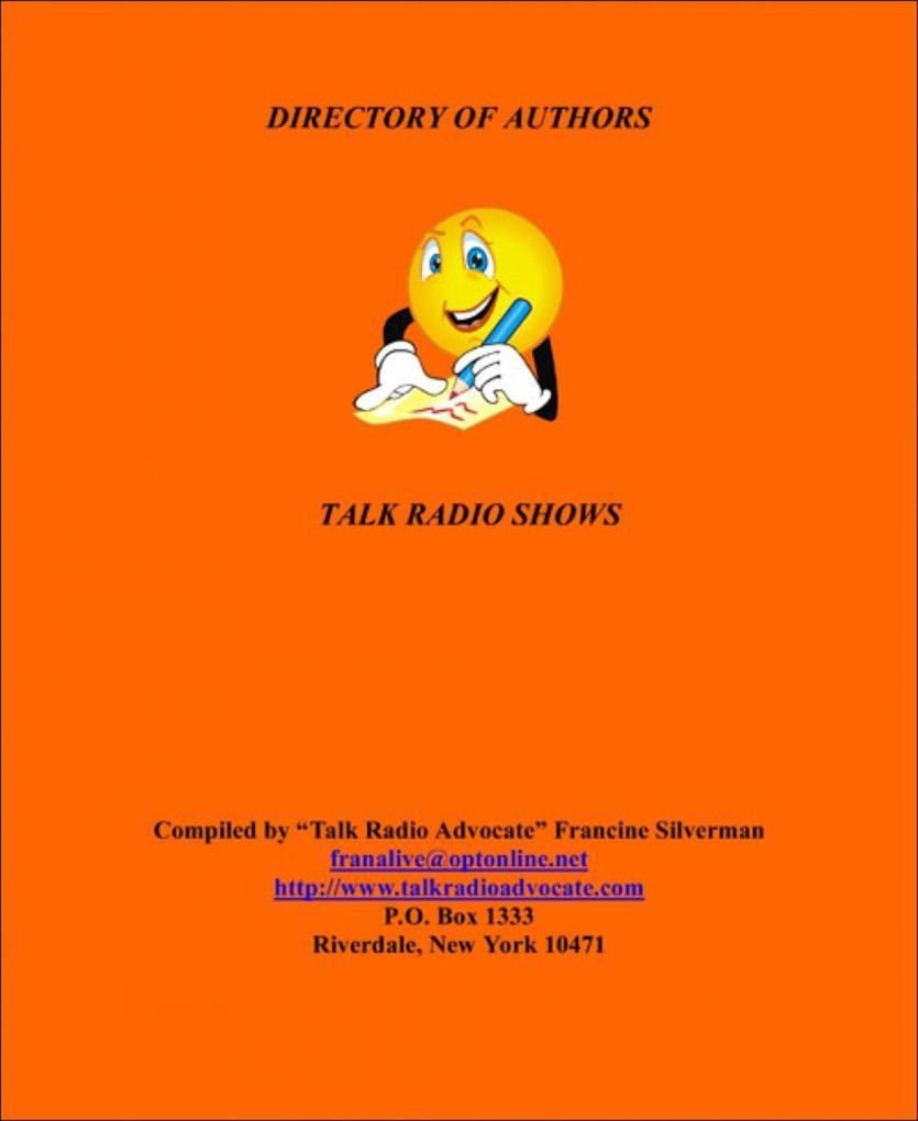 Authors Ebook of Talk Radio Shows als eBook Dow...