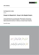 Drogen im Mogulreich - Drugs in the Mughal Empire