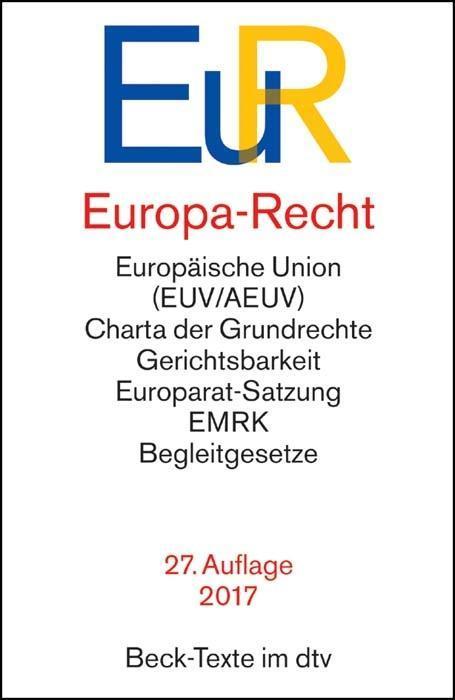 Europa-Recht als Taschenbuch