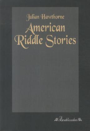 American Riddle Stories als Buch von