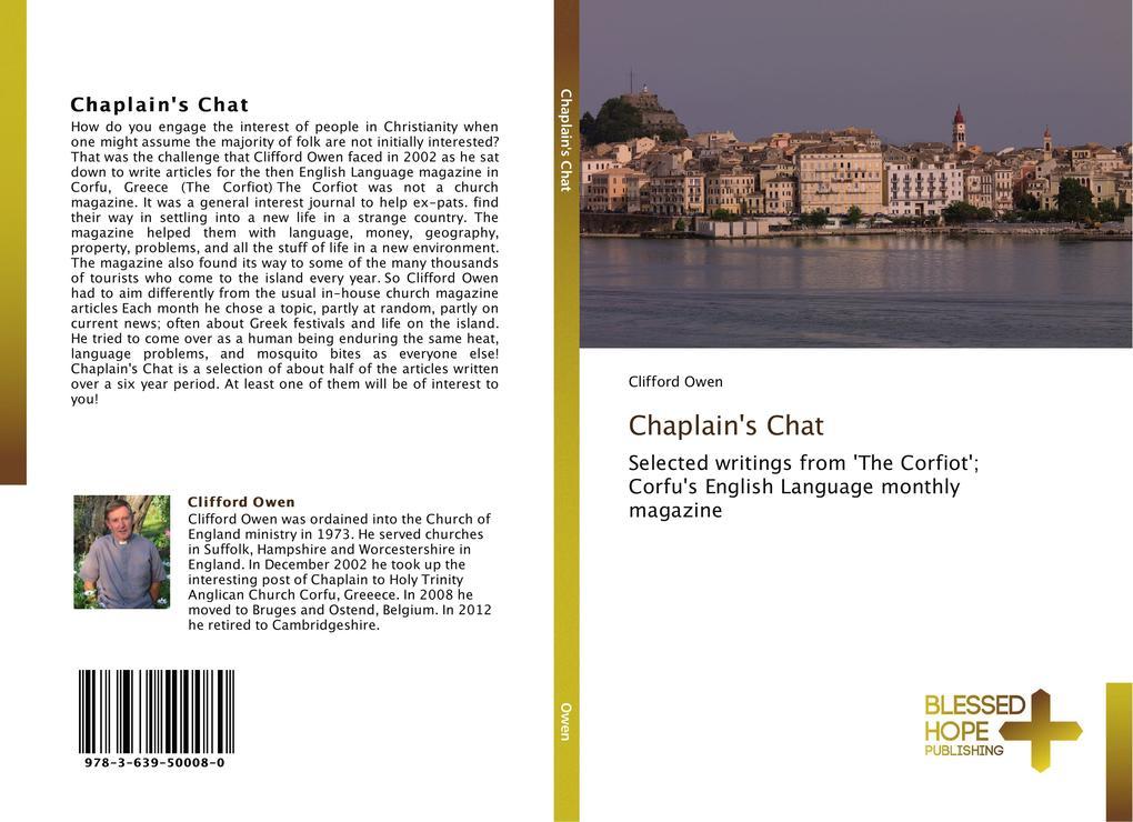 Chaplain´s Chat als Buch von Clifford Owen