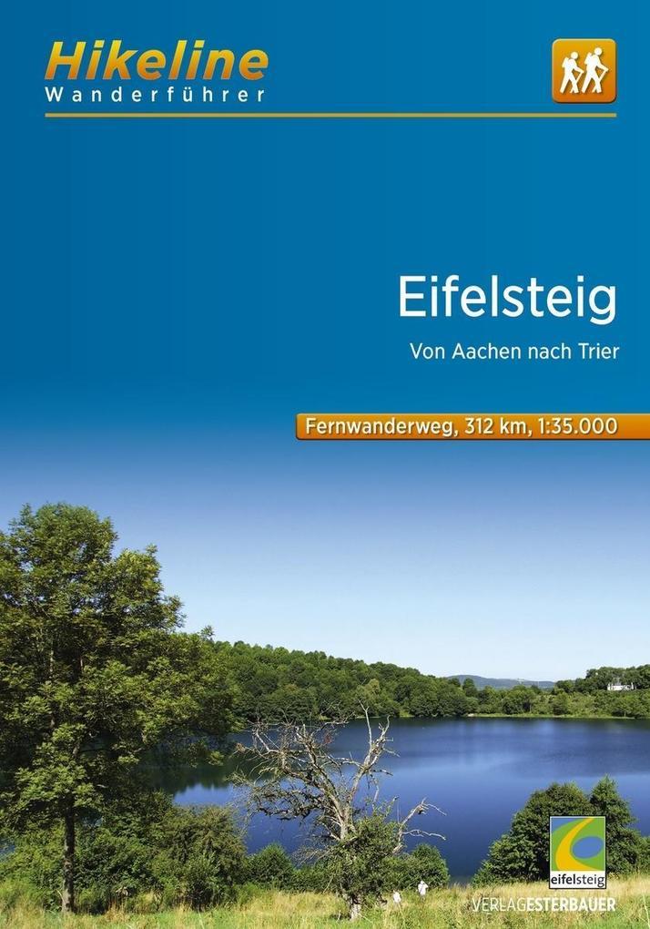 Hikeline Wanderführer Fernwanderweg Eifelsteig ...