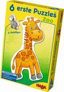 6 erste Puzzles - Zoo