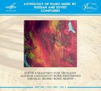 Anthology of Piano Music,Part 1,Disc 6