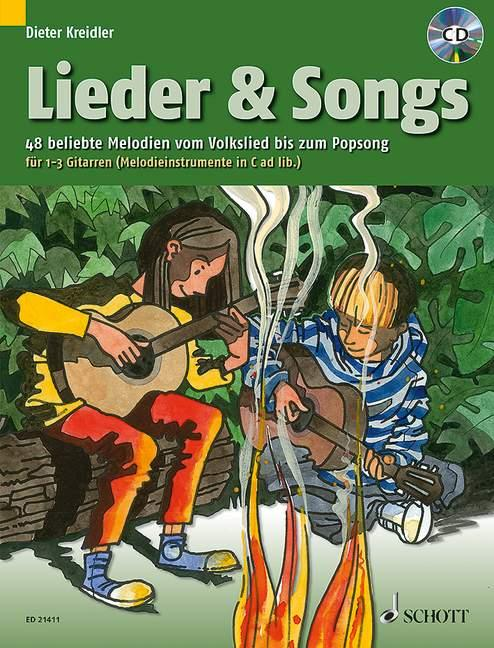 Lieder & Songs als Buch von Dieter Kreidler