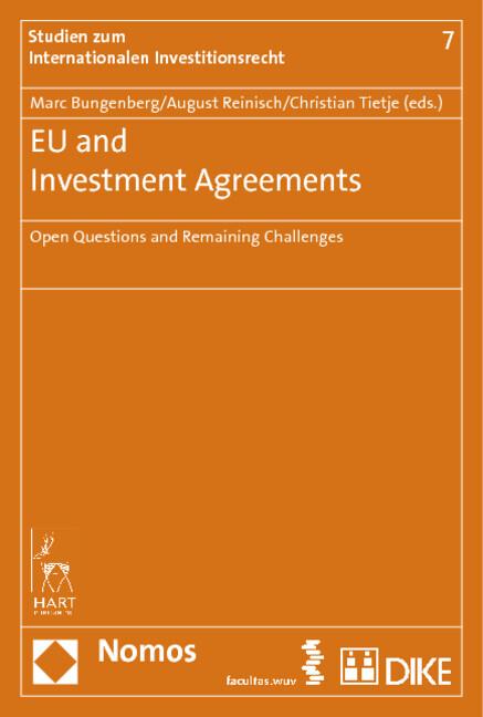 EU and Investment Agreements als Buch von