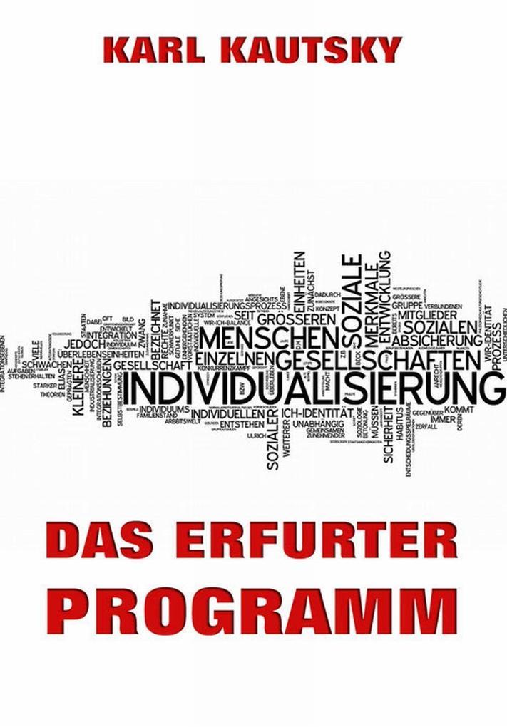 Das Erfurter Programm als eBook Download von Ka...