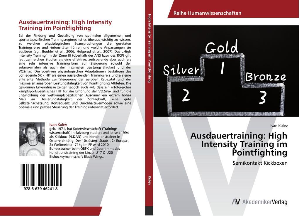 Ausdauertraining: High Intensity Training im Po...