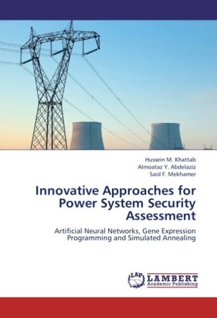 Innovative Approaches for Power System Security...