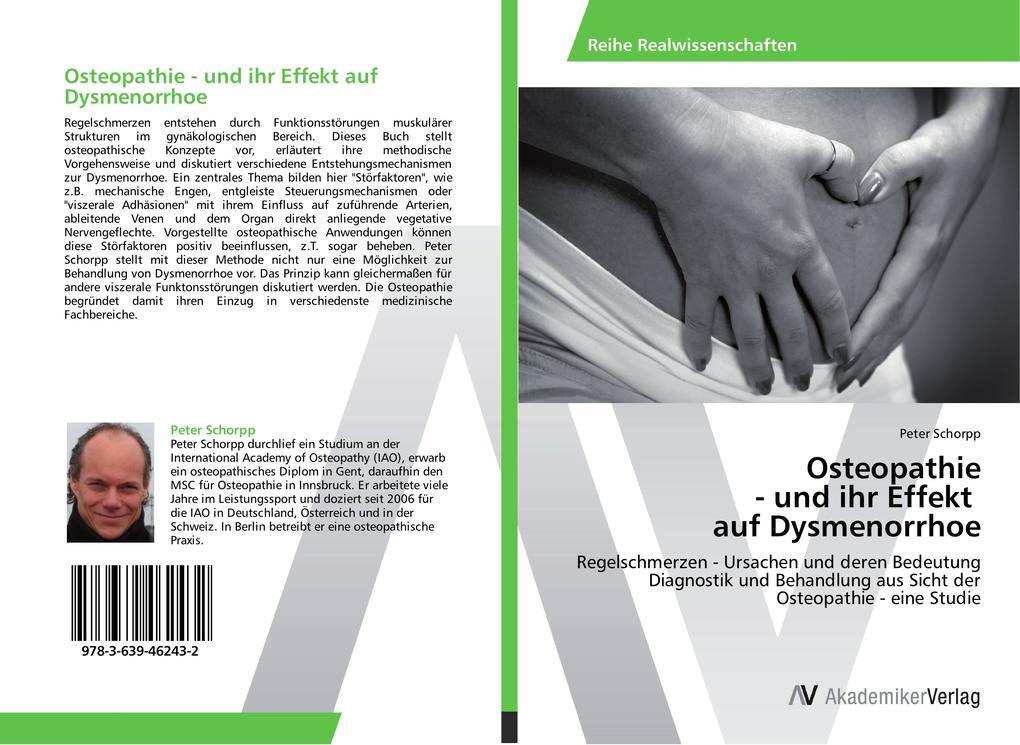 Osteopathie - und ihr Effekt auf Dysmenorrhoe a...