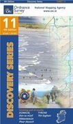 Irish Discovery Series 11. Donegal (South) 1 : 50 000