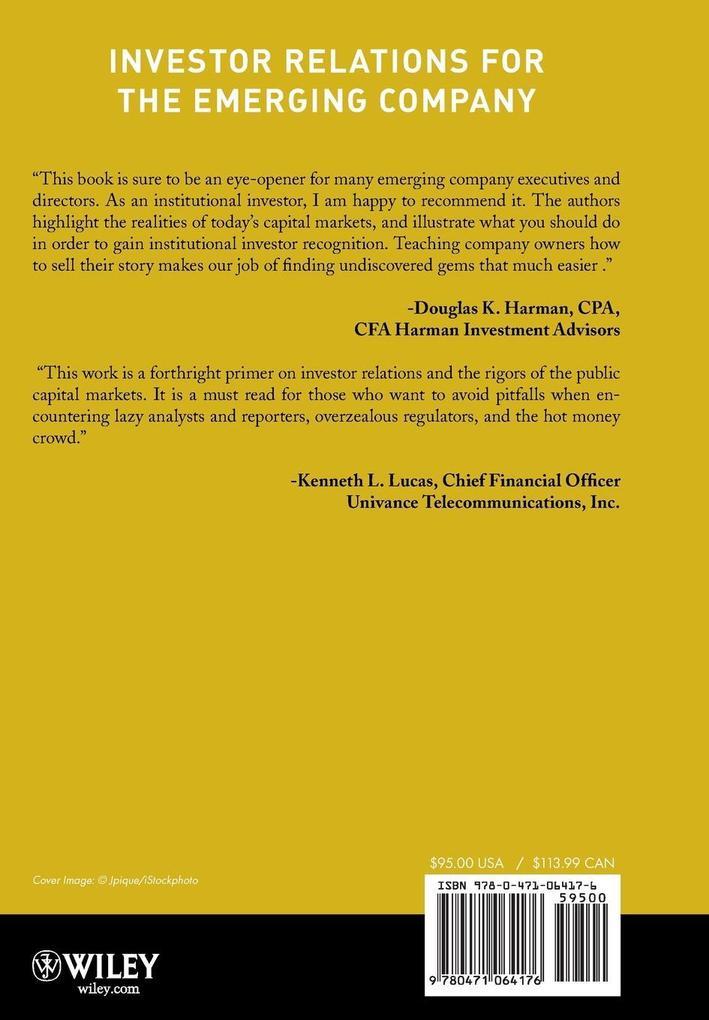 Investor Relations als Buch von Rieves, Lefebvre