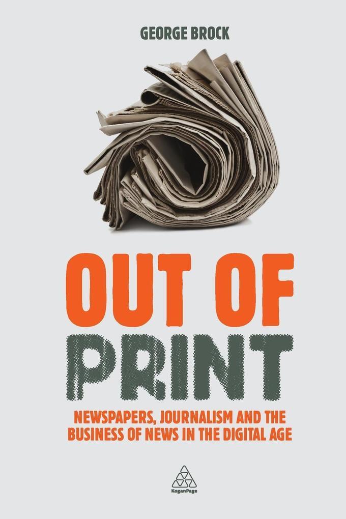 Out of Print als Buch von George Brock