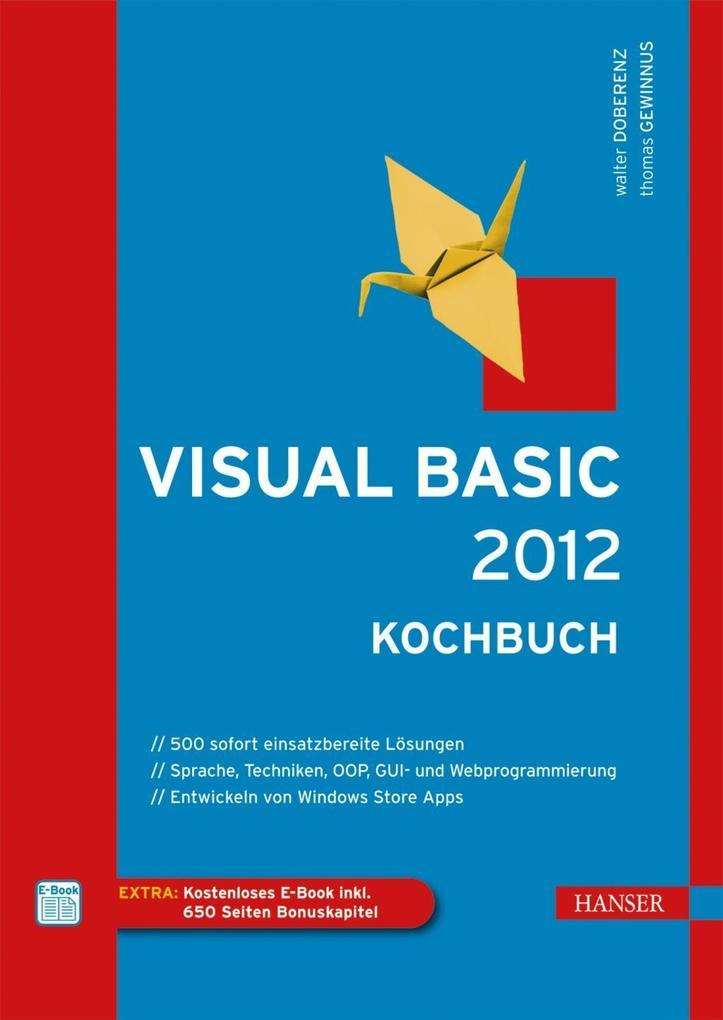 Visual Basic 2012 - Kochbuch als eBook Download...
