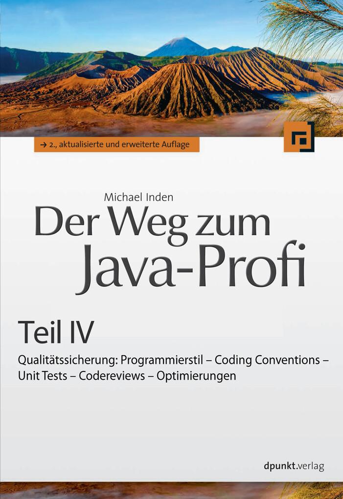 Der Weg zum Java-Profi - Teil IV als eBook Down...