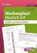 Wochenplan Deutsch 3 /4