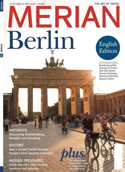MERIAN Berlin englisch als Buch von
