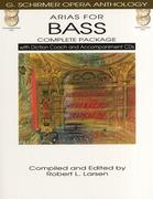Arias for Bass - Complete Package: With Diction Coach and Accompaniment Audio Online [With 4 CDs]