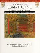 Arias for Baritone [With 4 CDs]