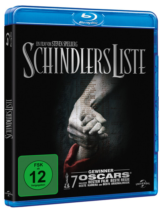 Schindlers Liste. 20th Anniversary Edition als DVD