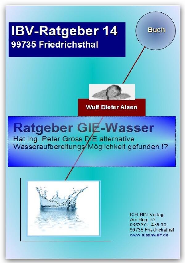 Ratgeber GIE-Wasser als Buch