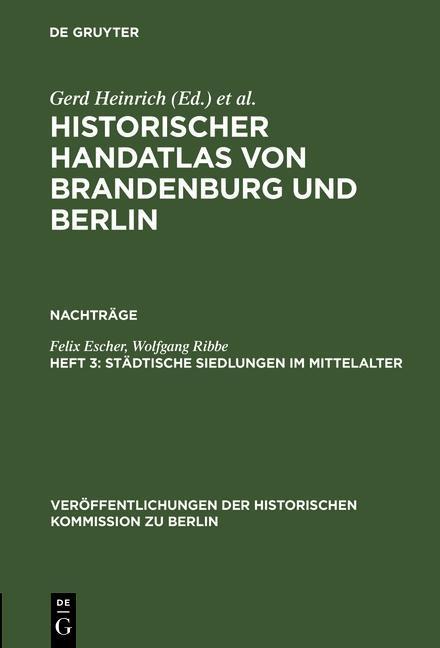 Historischer Handatlas von Brandenburg und Berl...