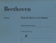 Werke für Klavier zu vier Händen