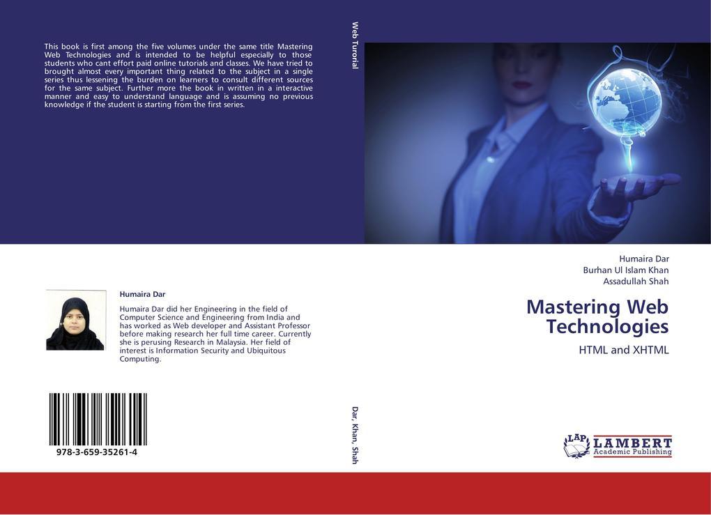 Mastering Web Technologies als Buch von Humaira...