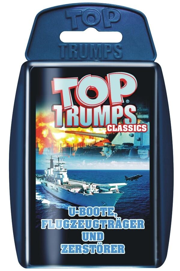 Top Trumps, U-Boote, Flugzeugträger und Zerstör...
