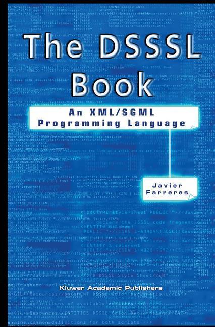 The DSSSL Book als Buch von Javier Farreres