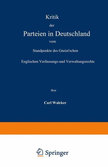 Kritik der Parteien in Deutschland vom Standpun...