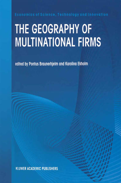 The Geography of Multinational Firms als Buch von