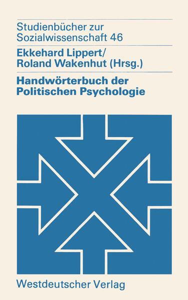 Handwörterbuch der Politischen Psychologie als ...