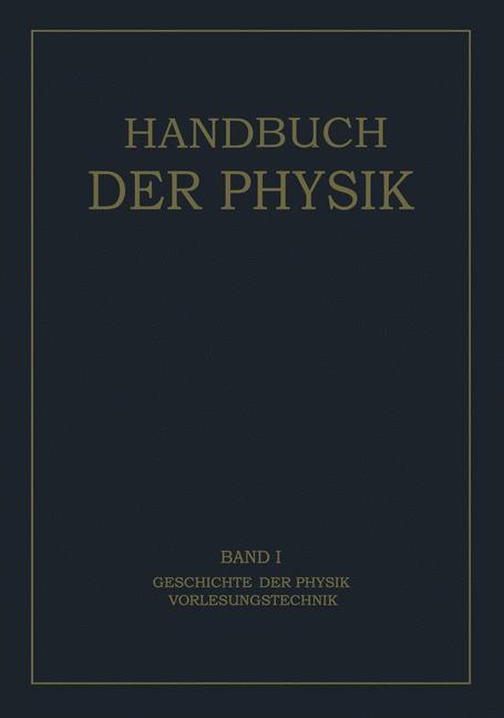Geschichte der Physik Vorlesungstechnik als Buc...