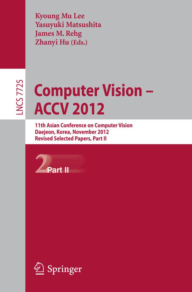 Computer Vision -- ACCV 2012 als Buch von