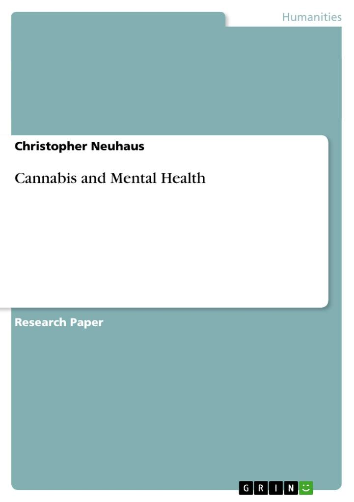 Cannabis and Mental Health als Buch von Christo...