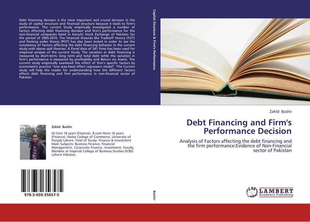 Debt Financing and Firm´s Performance Decision ...
