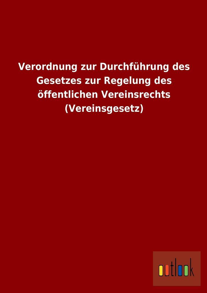 Verordnung zur Durchführung des Gesetzes zur Re...