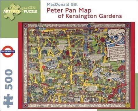 Puz Gill/Peter Pan Map als Buch