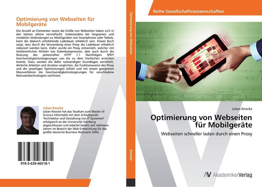 Optimierung von Webseiten für Mobilgeräte als B...