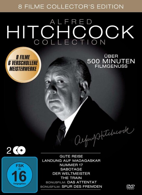 Alfred Hitchcock Collection (8 Filme)