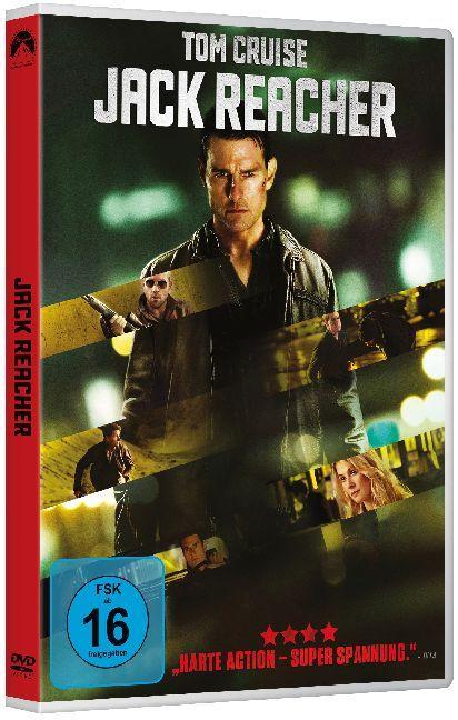 Jack Reacher als DVD