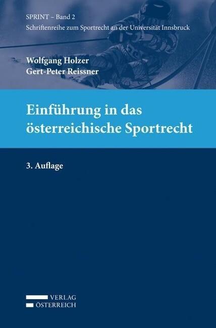 Einführung in das österreichische Sportrecht al...